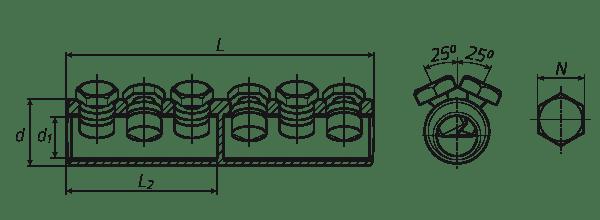 Типоразмеры 6СБЕ-(Л)