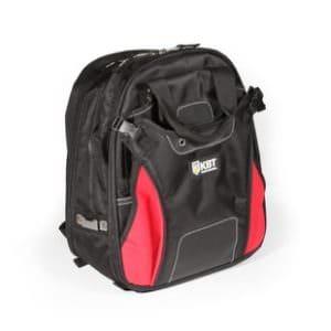 Рюкзак монтажника С-17 имеет широкие мягкие регулирующиеся лямки, регулируемый поясной ремень и ручки для переноски, мягкие вставки на спинке рюкзака, прочные усиленные молнии с крупными звеньями, жесткое дно с резиновыми ножками.Рюкзак выдерживает вес до 10 кг.